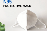 N95 Protective Face Masks 4ply Face Mask with Earloop Anti COVID-19