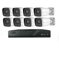 NVR-KIT-8CH-POE POE NVR+IP Camera Kit 8 Channel 5MP POE IP Camera Kits