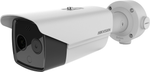 Hikvision DS-2TD2636B-15/P temperature screening thermal imaging bispectral bullet camera, 4MP, 6MM, accuracy +/- 0.5C, high sensitivity cooling module, with 384 x 288 resolution