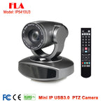 Grey Color 10X Zoom 2MP HD IP USB Video conference camera