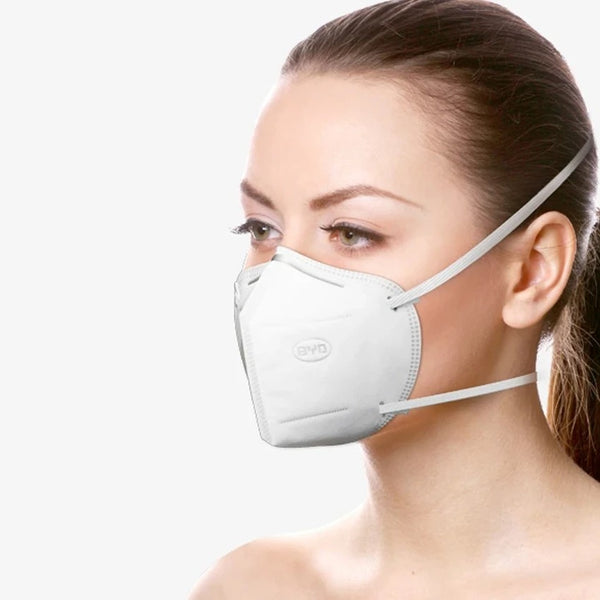 BYD KN95 Particulate Respirator (50 Pieces)