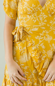 Antheia Dress - Mustard