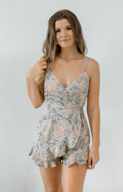 Blossom Playsuit - Blush