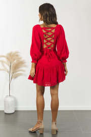 Scarlett Dress - Red