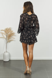 Blakeley Playsuit - Black