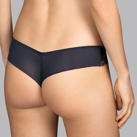 Andres Sarda Love Thong 330-9355 Charcoal