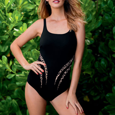 Anita Swim Austin Mastectomy Swimsuit M0.6211.001 Black