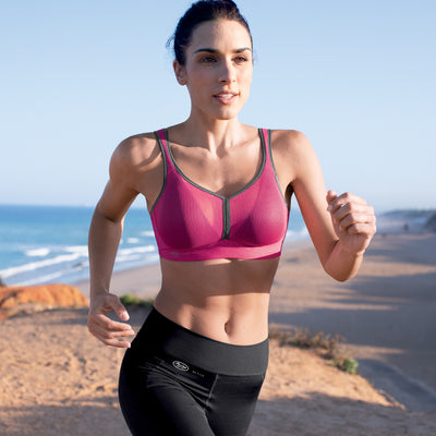 Anita Air Control Wire-Free Sports Bra 5544 Pink/Anthracite