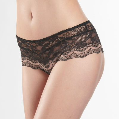 Aubade Soleil Nocturne Saint-Tropez Brief Nd70 Black Brief