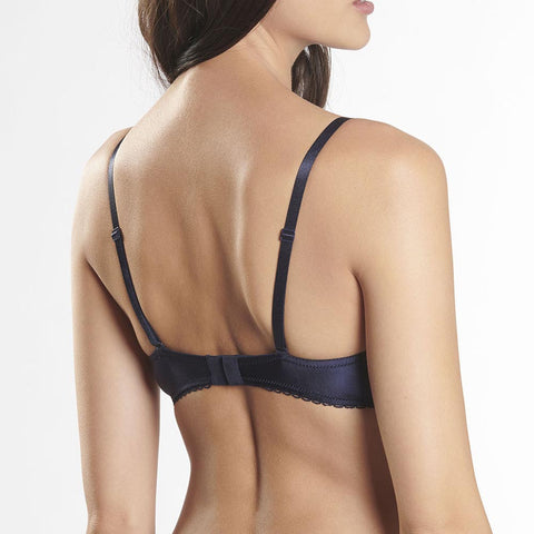 Aubade Rive Gauche Passion Demi Cup Bra Ed14 Navy