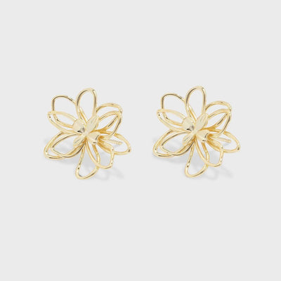 Gorjana Jewelry Aven Stud Earrings Gold