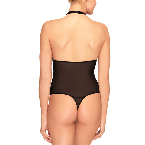 b.Tempt'd Ciao Bella Bodysuit 936144 Black