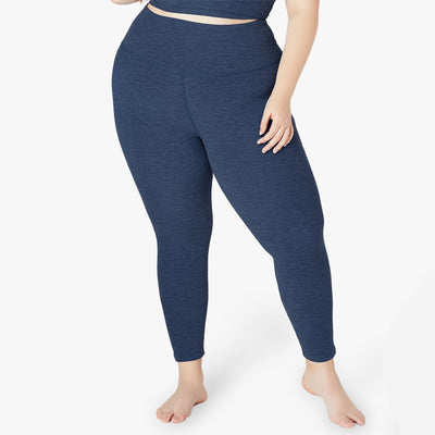 Beyond Yoga Plus Size Midi High Waisted Legging SD3243P Navy