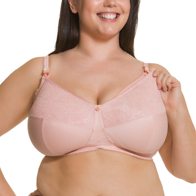 Cake Tea Wireless Nursing Bra 21-1035 Blush