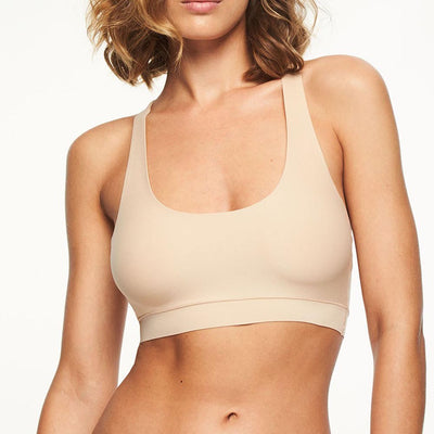 Chantelle Soft Stretch One Size Smooth Crop Top 2641 Basic Colors