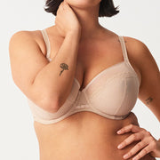Chantelle Parisian Allure Unlined Plunge Bra 2231 Ultra Nude