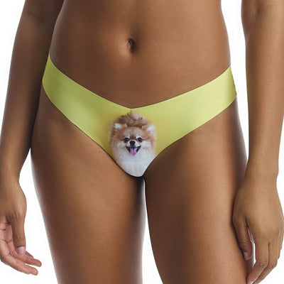 Commando Photo Print Thong CT18