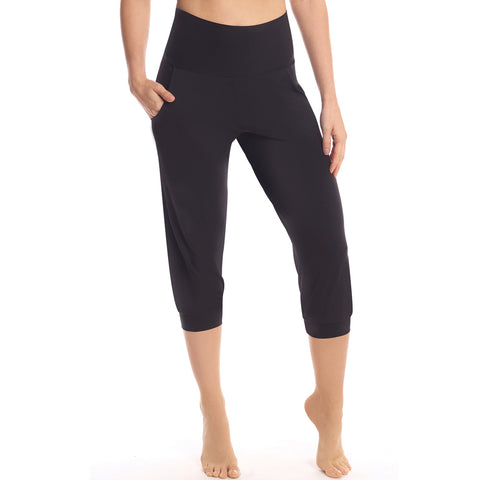 Commando Butter High Rise Capri Jogger Sl155 Black