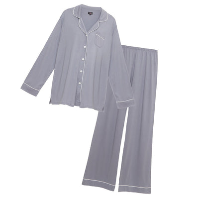Cosabella Bella Plus Long Sleeve & Pant Pajama Set Amore9641p Incenso