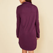 Cosabella Bella Sleep Shirt Amore1895 Deep Purple