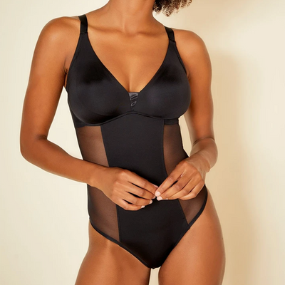 Cosabella Evolution Curvy Bodysuit Evolu2211 Black Curvy