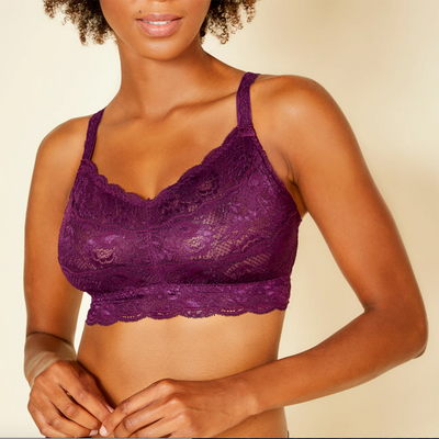 Cosabella Never Say Never Curvy Sweetie Bralette Nev1310 Deep Purple