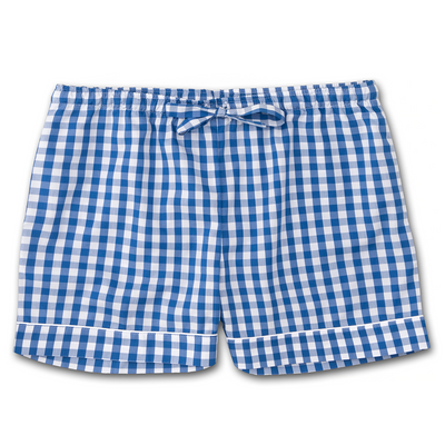 Derek Rose Lounge Short 1253-Bark026 Blue