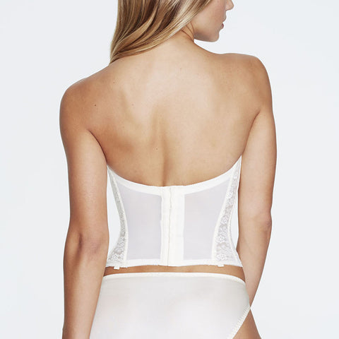 Dominique Annabel Long Bustier 7749 Ivory