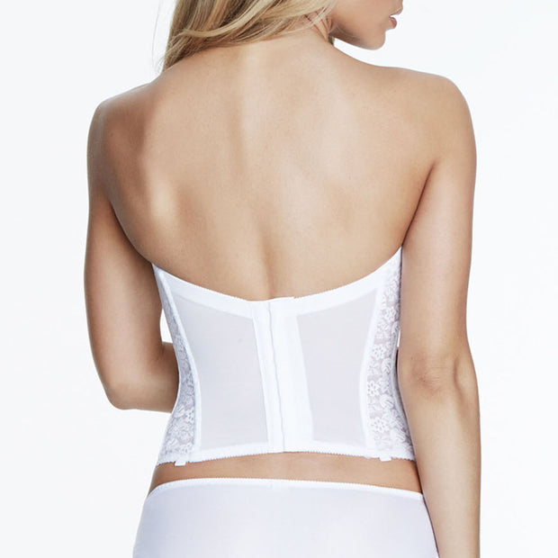 Dominique Annabel Long Bustier 7749 White