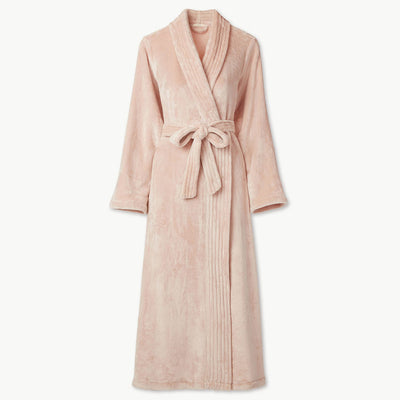 Eberjey Chalet Plush Robe R1987 Light Blush