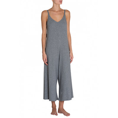 Eberjey Charlie Casual Jumpsuit Js1891 Heather Grey