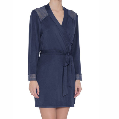 Eberjay Addison Cuff Robe R1917 Cosmic Blue