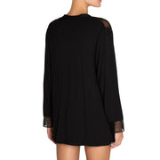 Eberjey Greta The Sleepy Cardi R1758c Black