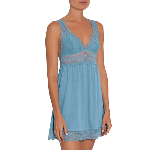 Eberjey Highline Chemise S942NN Blueshadow