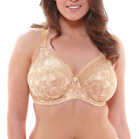 Elomi Morgan Underwire Banded Bra EL4110 Toasted Almond