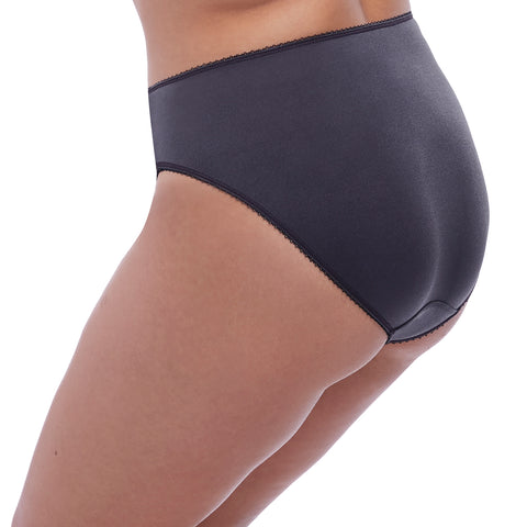 Elomi Cate Brief Panty EL4035 Anthracite