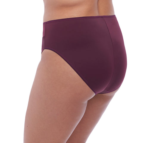 Elomi Eugenie High Leg Brief El4475 Gilded Berry