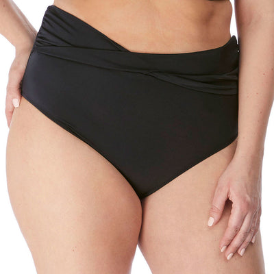 Elomi Swim Magnetic Twist Bikini Brief ES7196 Black