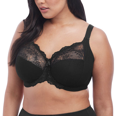 Elomi Meredith Underwire Stretch Cup Bra EL4440 Black