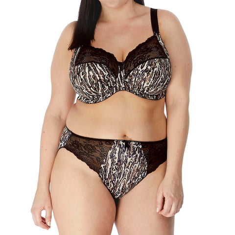 Elomi Morgan Brief Panty EL4115 Ocelot