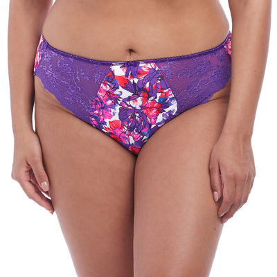 Elomi Morgan 4115 Brief Knickers Pant Cobalt Blue