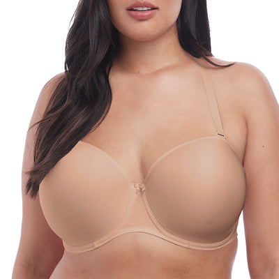 Elomi Smooth Underwire Molded Convertible Strapless Bra EL4300 Sahara