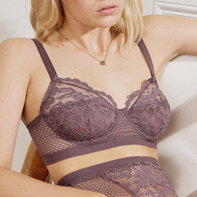 Else Petunia Full Cup Underwire Bra EC-428B Fig