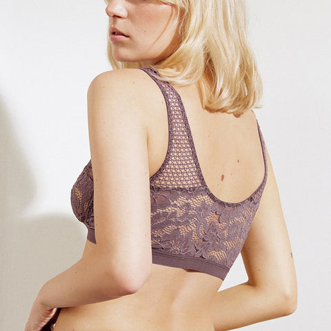 Else Petunia Soft Cup Bralette EC-429B Fig