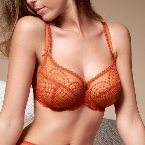 Empreinte Norah Seamed Bra 8191 Orange