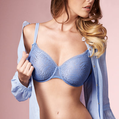 Empreinte Verity Spacer Cup Underwire Bra 40173 Blue