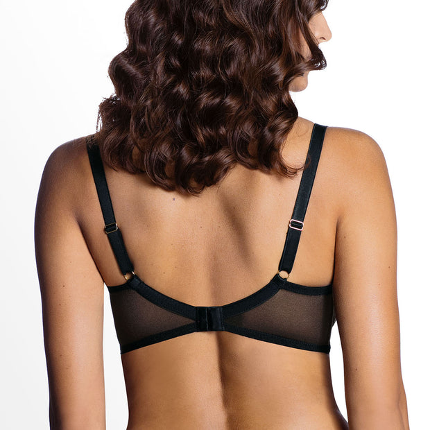 Ewa Bien Diamond Soft Cup Bra B104 Black