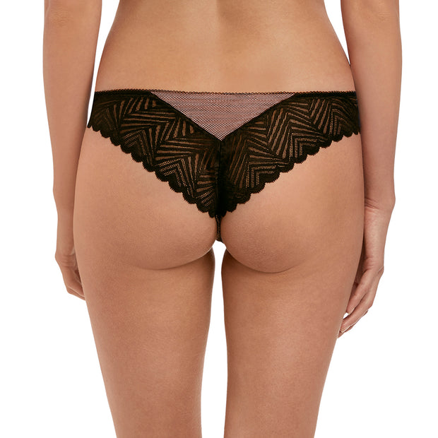 Freya Escape Lace Brazilian Aa1867 Ebony
