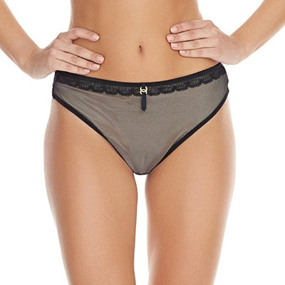 Freya Idol Allure Deep Thong AA1807 Black