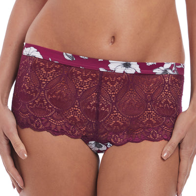 Fantasie Olivia Boyshort Fl3186 Black Cherry